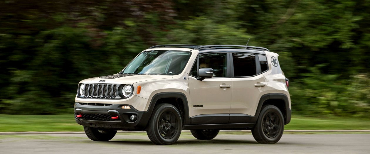 Jeep to Build a Fully Electric Renegade by 2020