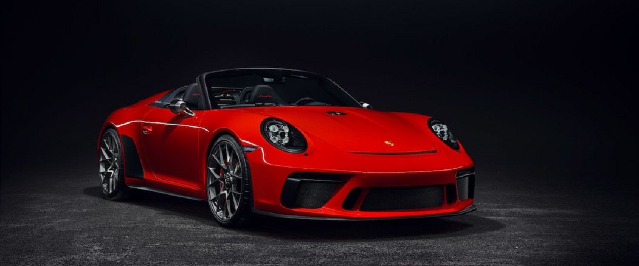 Porsche's 911 Speedster Premiers at Paris Auto Show