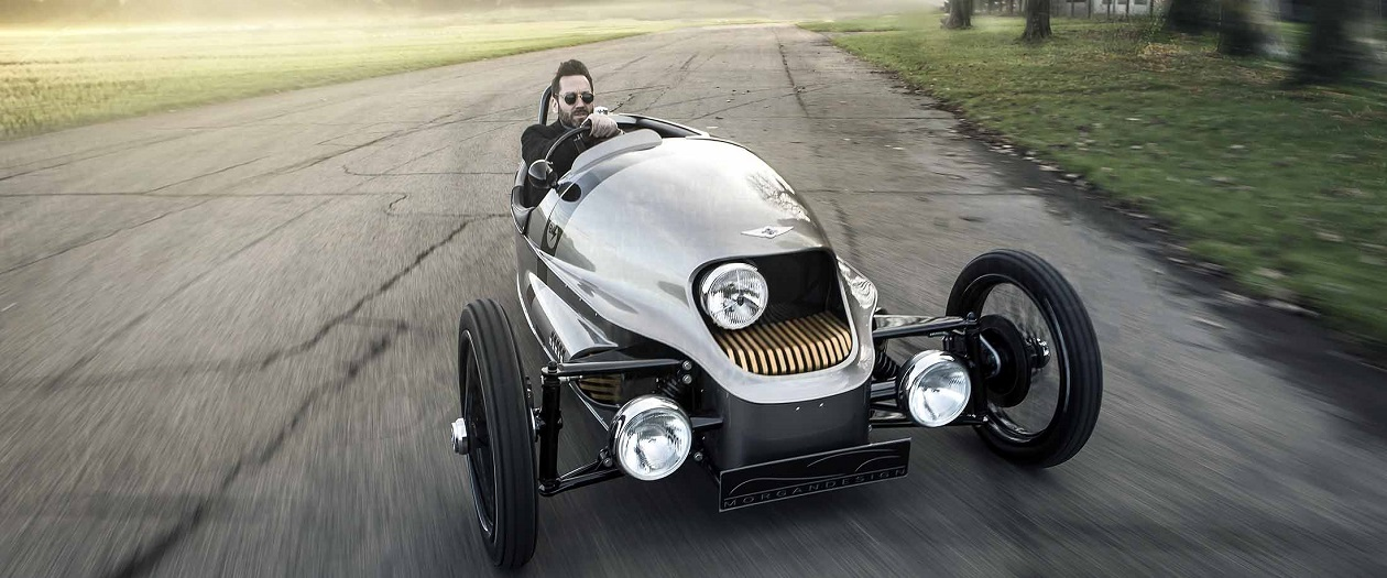 Morgan's Three Wheeled Electric Car Has Been Paused Indefinitely