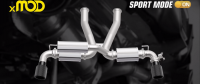 "The xMOD Modular Exhaust Swaps from ""Street"" to ""Racing"" With Ease"