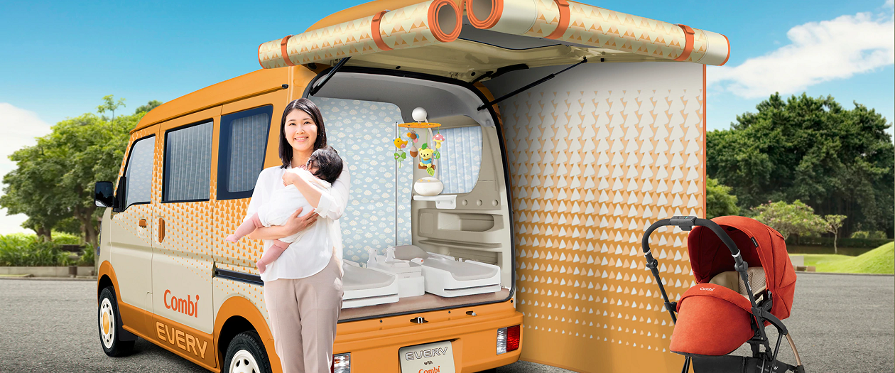 This Suzuki Concept Car is Built with Nursing Moms in Mind