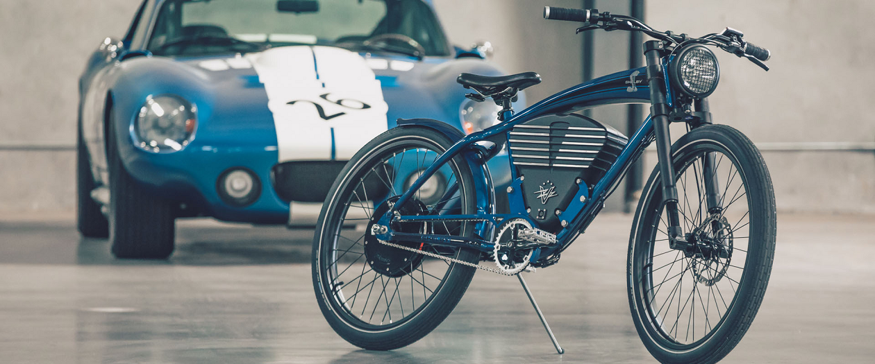 Vintage Electric Built an Electric Bicycle in Honor of Shelby Vehicles