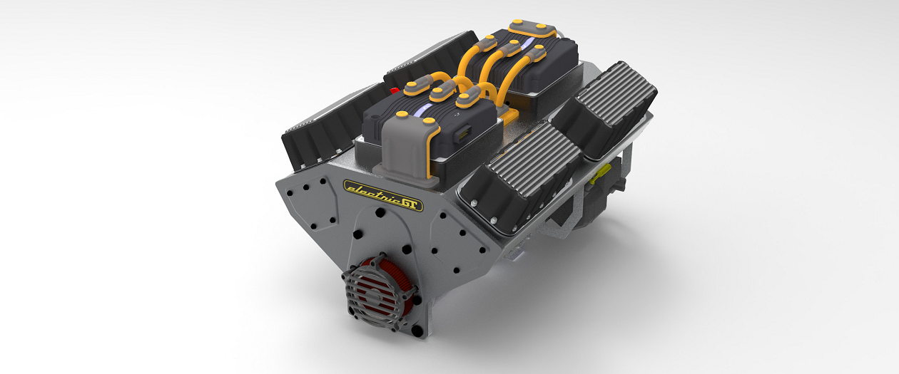 """Electric GT is Producing a Modular """"Electric V-8 Crate Engine"""""""