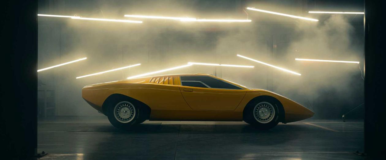Lamborghini Revives 50 year old Countach LP500