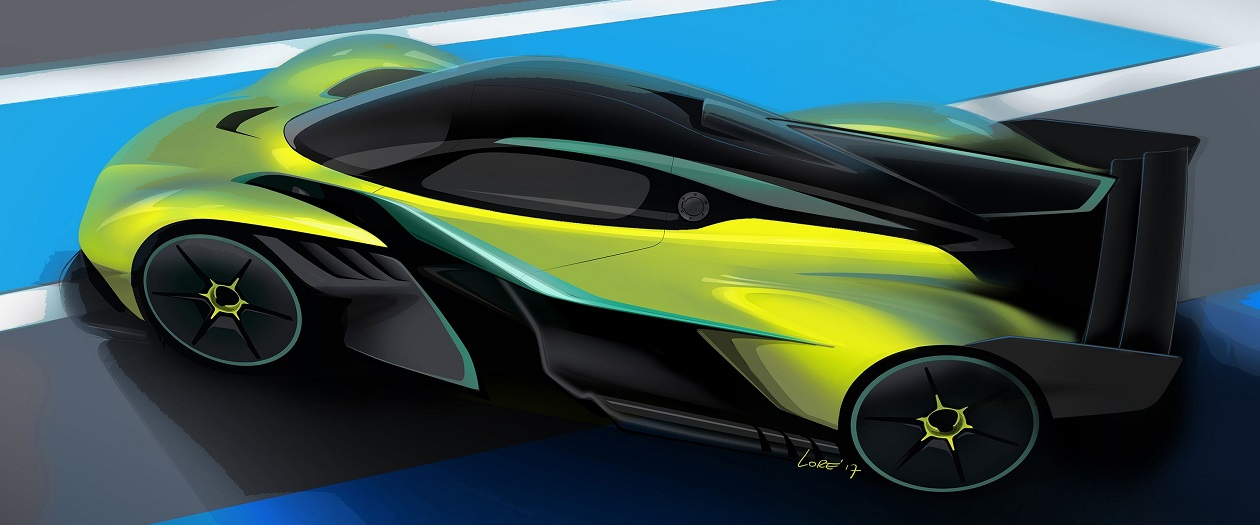 Aston Martin Reveals the Valkyrie AMR Pro