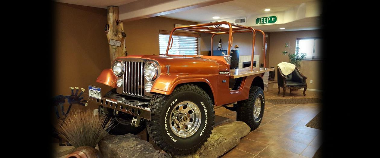 Mod Shop Owner Turns Jeep CJ-5 Into a Bar