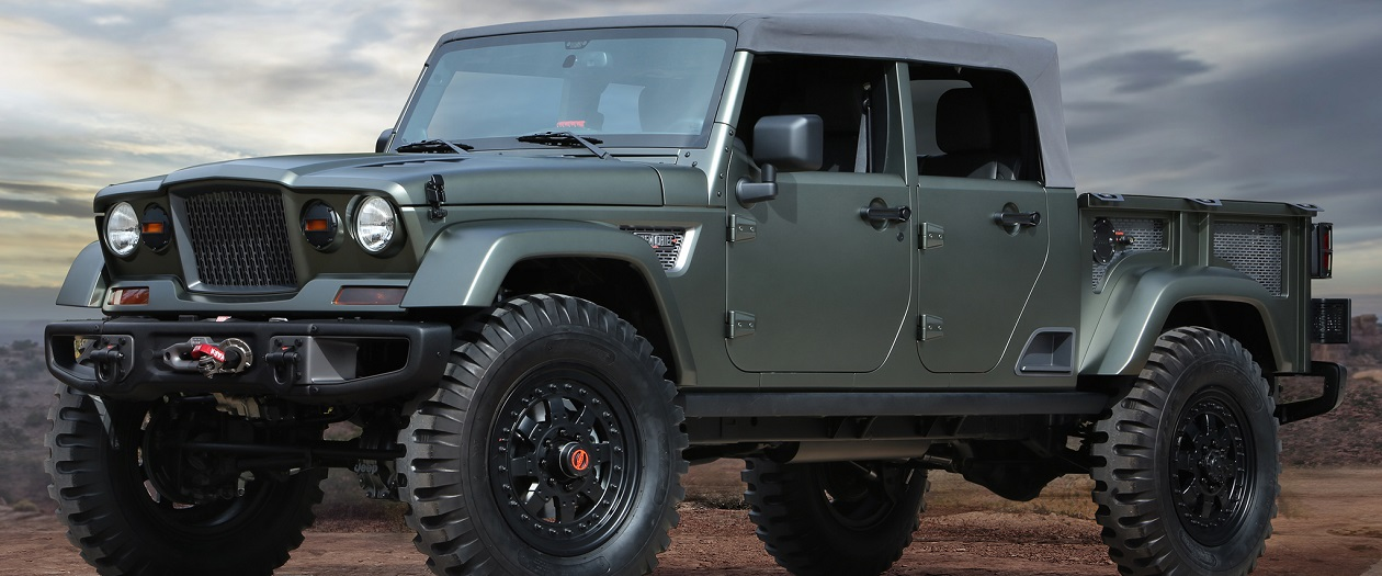 Upcoming Jeep Wrangler Style Pickup Might Be Convertible