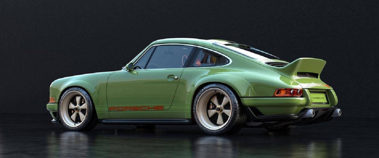 Singer Teams with Williams to Modify this Porsche 911