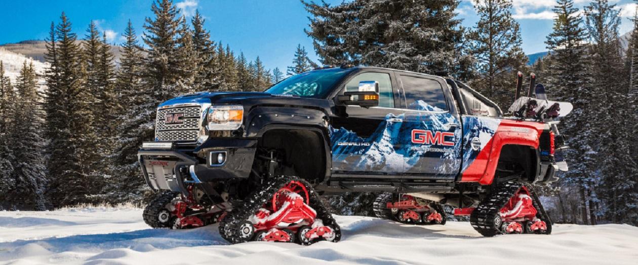 GMC Announces the All Mountain Concept