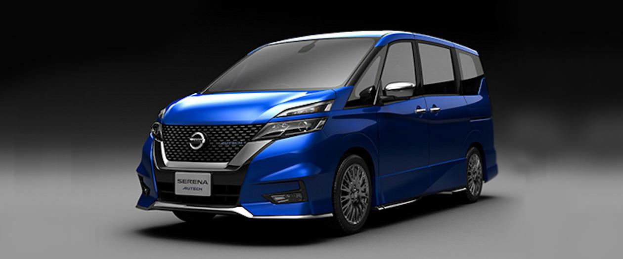 Nissan Designates Autech, Teases a Serena Autech Performance Minivan