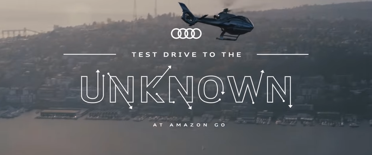Amazon Partners with Audi for One-of-a-Kind A6 Test Drives