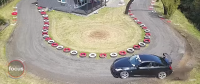 New Zealand Man Builds Drift Track Around Own Home