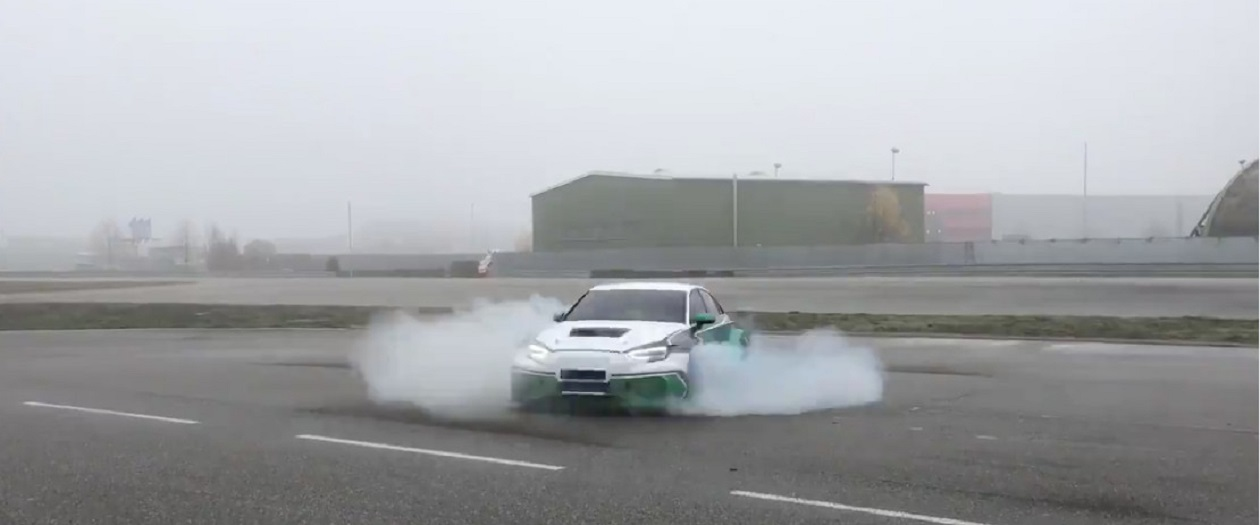 Electric Cars Can Do Donuts, And It's Incredible