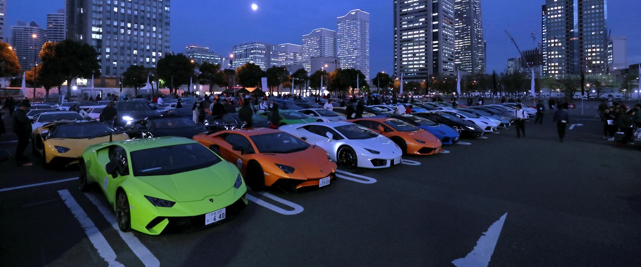Japan Hosts An Incredible Lamborghini Event