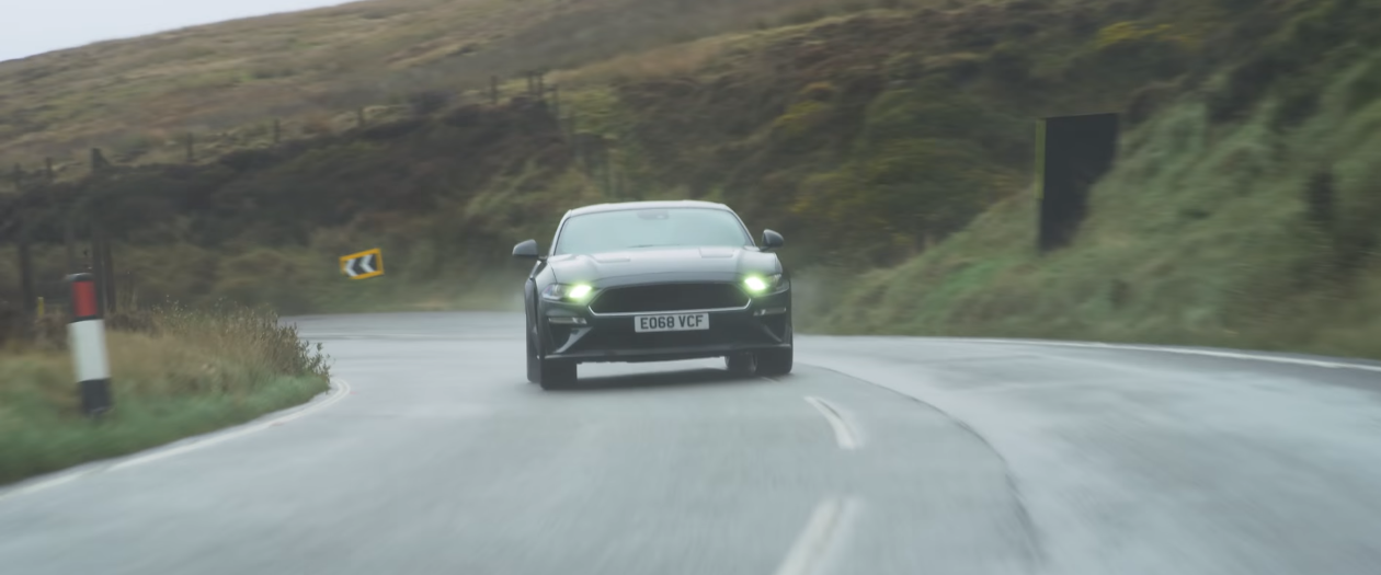 Watch The Mustang Bullitt Take on the Deadly Isle of Man
