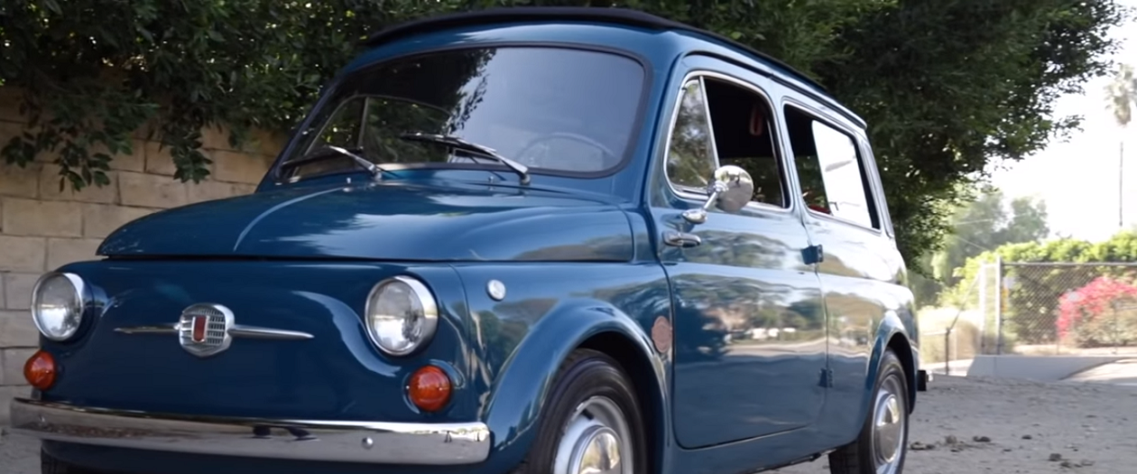 Icon Reveals an Electric 1966 Fiat 500 Giardiniera