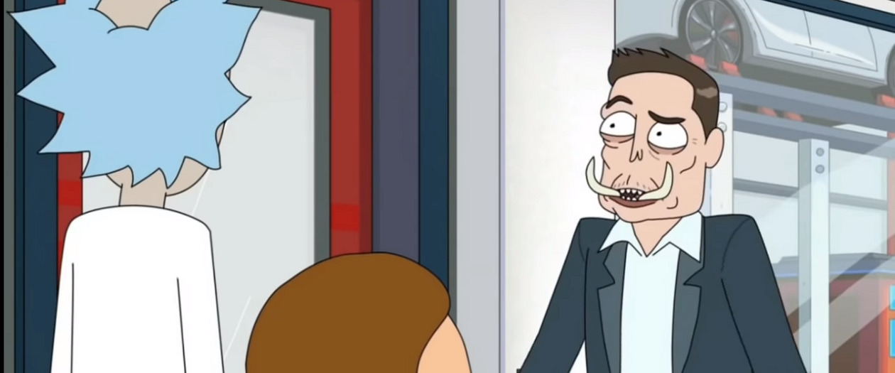 "Elon Musk Appears in Popular Show ""Rick and Morty"" as Elon Tusk"