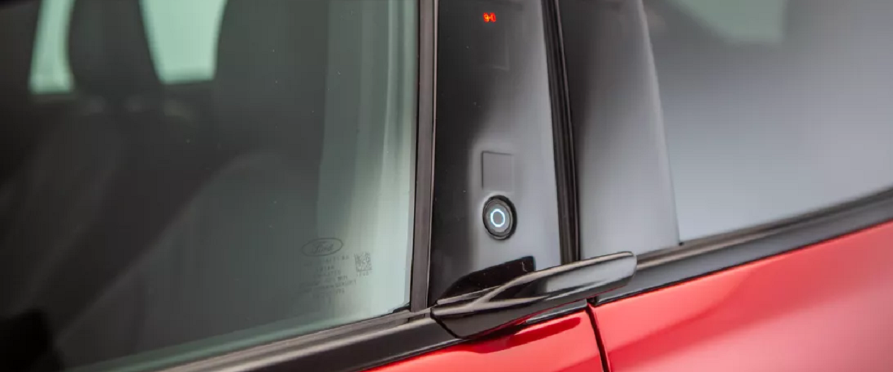 The Ford Mustang Mach-E SUV has a Strange Take on Door Handles