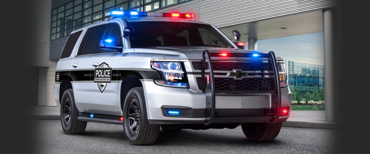 GM Makes a Safer Chevy Tahoe Police Pursuit Vehicle
