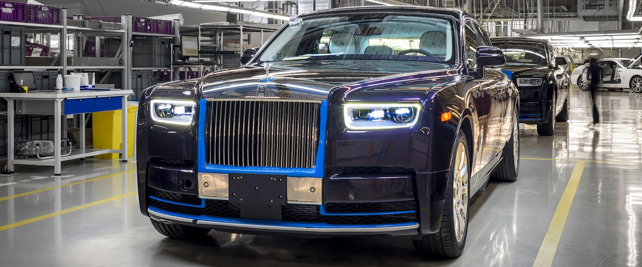 Rolls-Royce to Auction the First 2018 Phantom for Charity