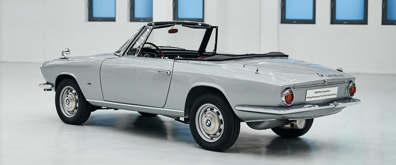 BMW Restores The Last 1600 GT Convertible