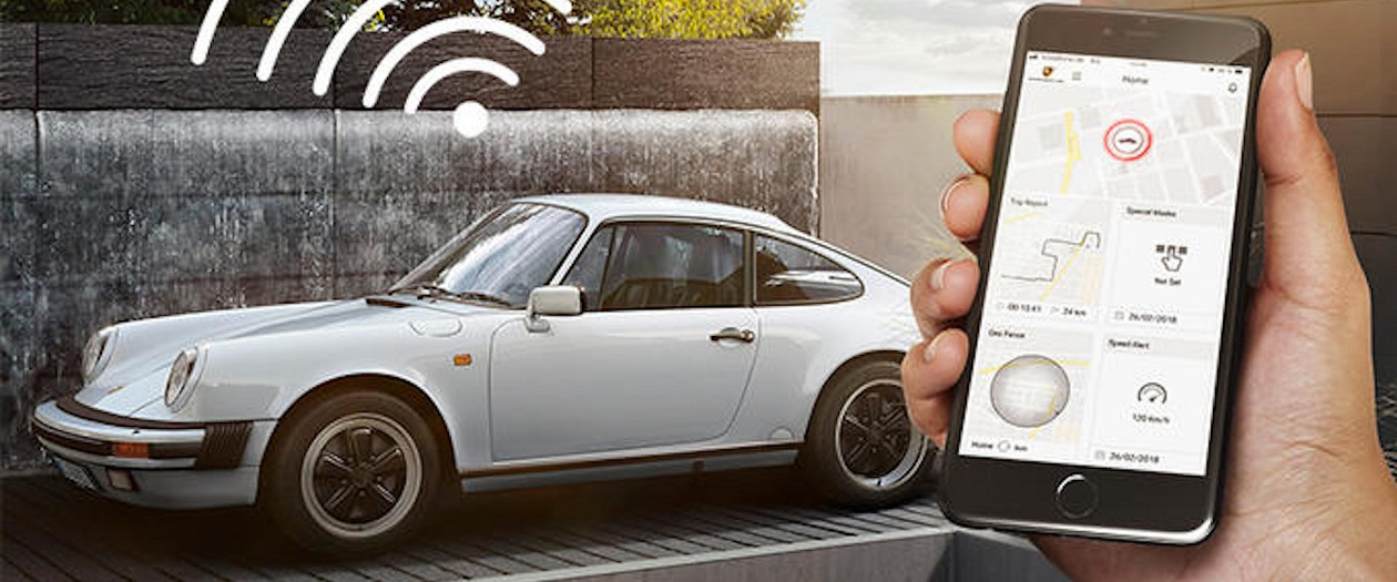 Porsche Launches Remote Tracking for Classic Cars