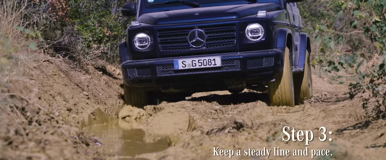 Mercedes-Benz Shows Us How to Mud Run in a G-Class