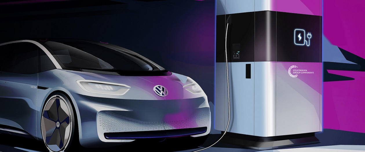Volkswagen to Launch Mobile Electric Charging Stations Next Year